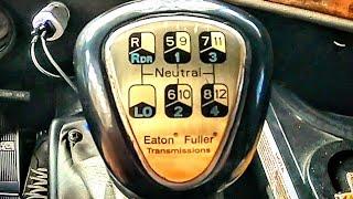 PULAR MARCHAS NO CÂMBIO EATON FULLER, INTERNATIONAL 9800i. NO 30TÃO 9 EIXOS.(EP125/19)