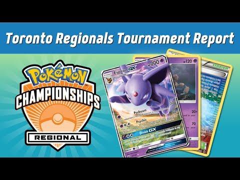 Toronto Regionals 2018 Tournament Report   Espeon GX / Garbodor