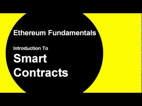 Intro To Smart Contracts in Ethereum, Learn About Solidity and the EVM in 6 mins
