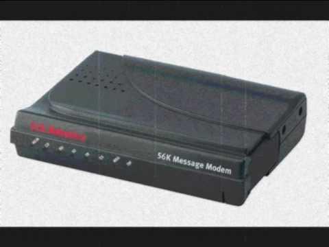 Der 56k Modem Klang - The 56k dialup modem sound