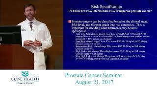 Prostate Cancer Seminar - August 21, 2017