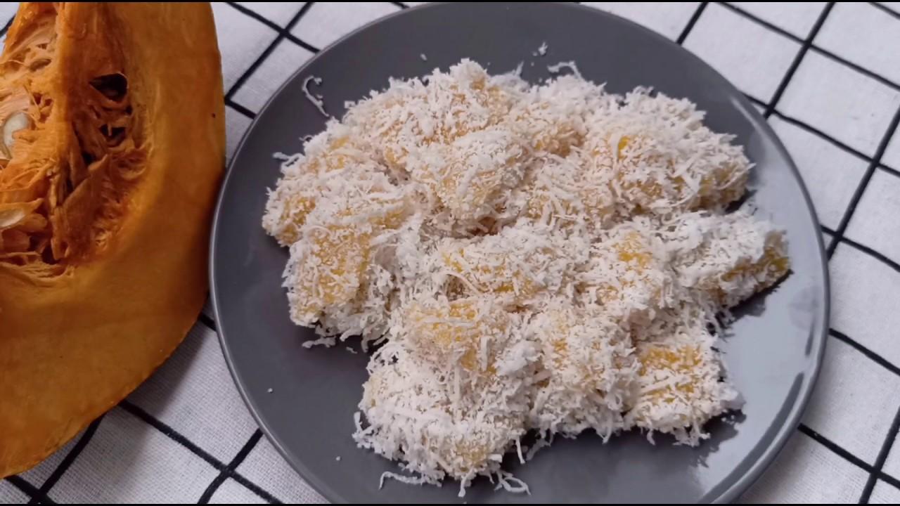 金瓜椰丝糕 QQ嫩嫩的好好吃呀~I 幸福料理