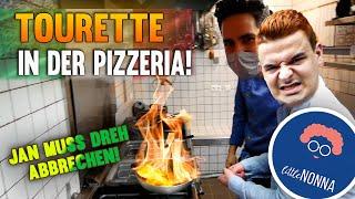 Tourette Dreh MUSS ABGEBROCHEN werden! Jan als Sternekoch im Italienischen Restaurant!