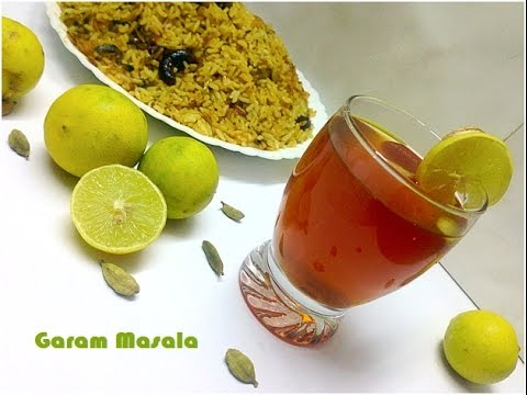 Lemon Tea  സുലൈമാനി  Sulaimani for Biriyani