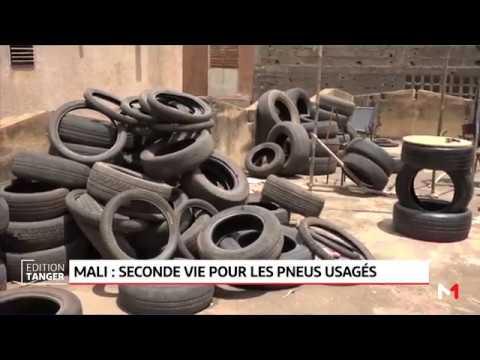 Mali: une solution innovante pour les pneus usés