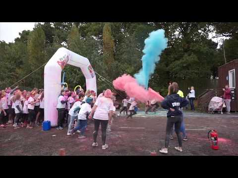 Kids Out Charity - Colour Dash 5k - Drayton Manor - 2017