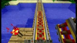 Minecraft  как сделать рельса ?