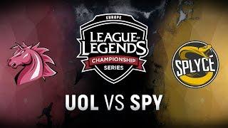 Video UOL vs. SPY  - Week 1 Day 2   EU LCS Spring Split    Unicorns of Love  vs. Splyce (2018) download MP3, 3GP, MP4, WEBM, AVI, FLV Agustus 2018