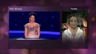 Eurovision 2010 - Voting Part 1/5 (No commentary)