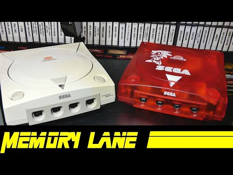 Turning Broken Dreamcast Into A Modded Dream Come True (Memory Lane)