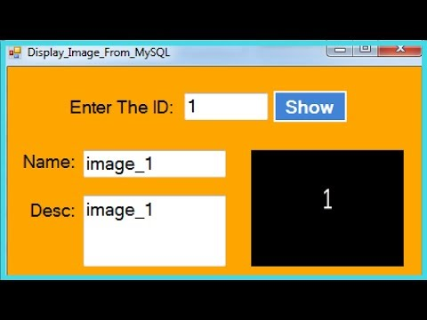 VB.NET - How To Retrieve Image From MySQL DataBase In Visual Basic.Net [ with source code ]