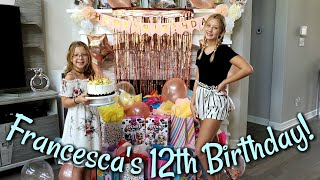 Francesca Surprises Leah On Her Birthday!