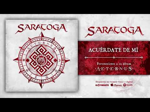 "SARATOGA ""Acuérdate De Mí"" (Audiosingle)"