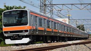 E231系元ミツB80編成 AT出場 武蔵野線転用改造済み