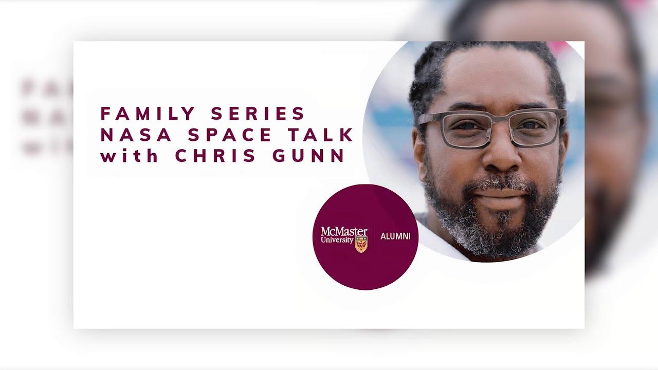 Image for Family Series: NASA Space Talk with Chris Gunn webinar
