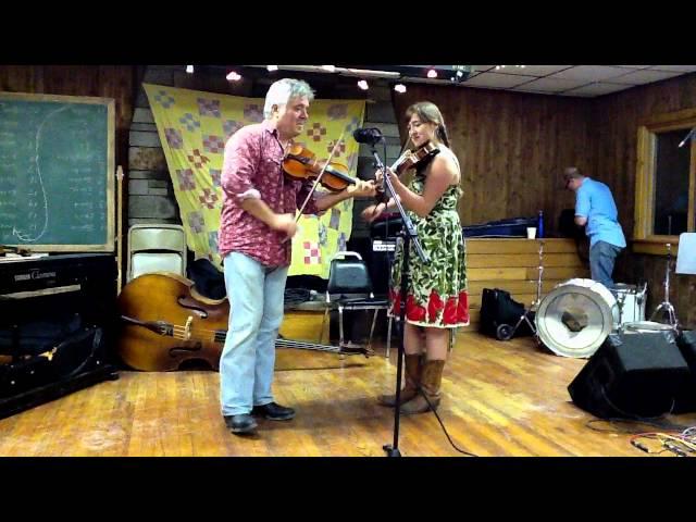 Ashokan Southern Week 2011-Rafe & Clelia Stefanini