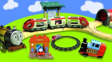 1 Stunde Spaß mit Zügen: Thomas der Zug, Masha und der Bär, Spielzeug