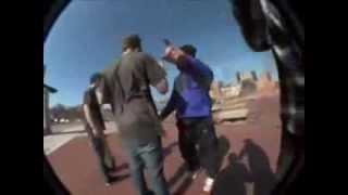 Runners attack skateboarders! Skaters vs Noble Runners!