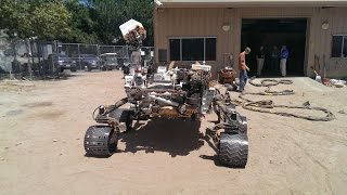 Mars Science Laboratory Wheels Material Testing For Real Mars Case (MSL) Curiosity