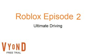 Roblox Episode 2: Ultimate Driving