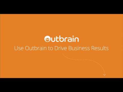 Outbrain Amplify in 15sec