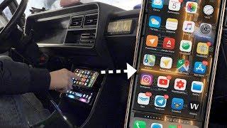 Ставим iPhone XS в ВАЗ 2104 и 1500W звука своими руками...