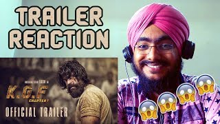 KGF Trailer REACTION | Yash | Srinidhi Shetty | Prashanth Neel | Vijay Kiragandur