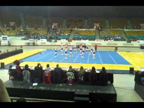 2011 State Cheer Bayfield High School