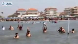 بالفيديو : مصيف راس البر يستقبل مليون زائر خلال شم النسيم