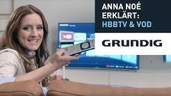 Anna Noé erklärt: HbbTV & Video on Demand - Grundig