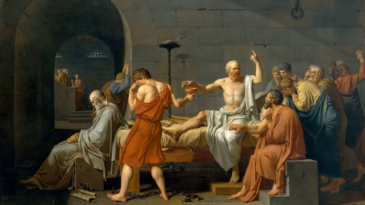 socrates body and soul Body and soul modern philosophy is haunted by the spectre of cartesian dualism: the view that a human being is an composite of two fundamentally different sub.