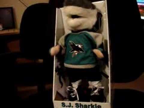 San Jose Sharks Dancing Sj Sharkie Youtube