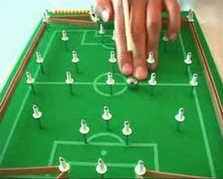Ginga sticks finger soccer and table game youtube - Who invented table football ...