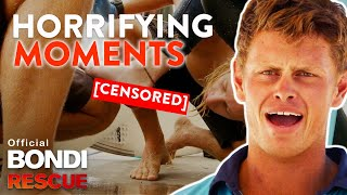 HORRIFYING Moments Lifeguarding at Bondi (Halloween Special)