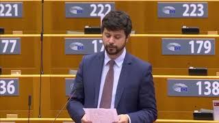 """Intervento in Plenaria di Brando Benifei, capo delegazione Pd, su """"Normazione dei servizi digitali e normativa e-commerce"""""""