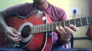 Kaththi Theme guitar cover(lesson)