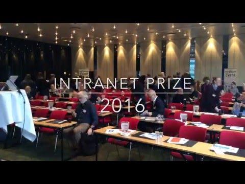 Intranet Prize 2016 - Winner's presentation