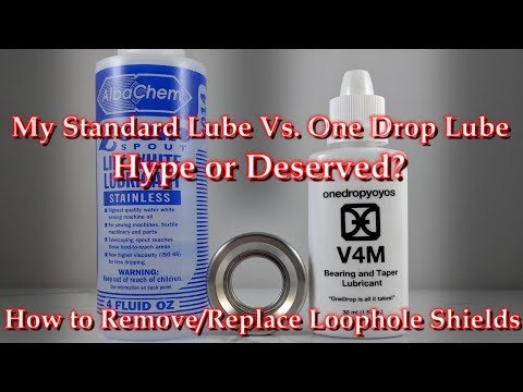 How To Remove/Reinstall Loophole Bearing Shields & One Drop Yo-Yo Lube - Hype or Deserved?