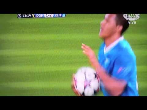 Salomon Rondon Gol del venezolano B Dortmund 1 Zenit 2