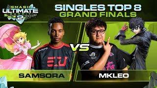 Samsora vs MkLeo - GRAND FINALS: Singles - Smash Ultimate Summit 2 | Peach vs Joker