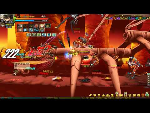[Elsword KR] Reckless Fist - RF 3-X solo play (레피 비던-용의 둥지 나락)