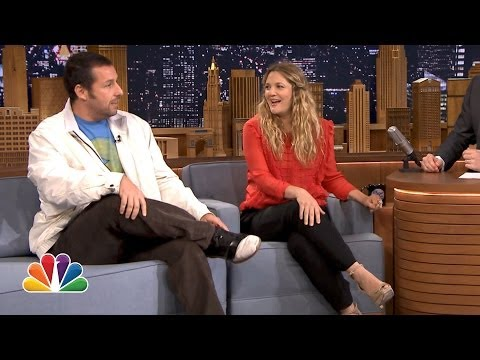 Drew Barrymore Gets a Surprise Call from Adam Sandler