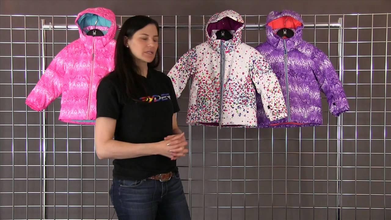 72f3ea297e9d Spyder Bitsy Glam Jacket 2015-2016 - YouTube