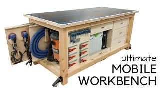 Ultimate T-Track Workbench + Customizable Storage