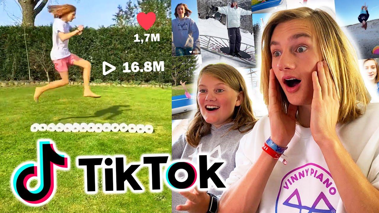 Wir reagieren auf MEINE KRASSESTEN TikToks 2! (16.8 Millionen Aufrufe!)
