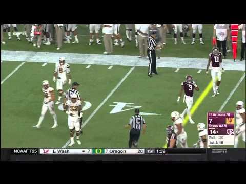 Texas A&M vs Arizona State 2015 - Highlights