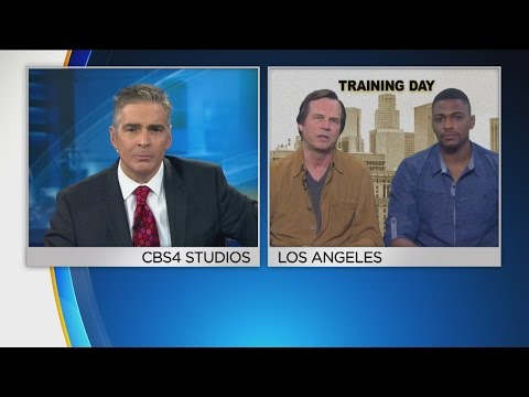 'Training Day' Stars Chat With CBS4