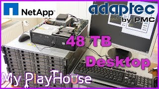 Desktop PC with 48TB on drive D: - 546