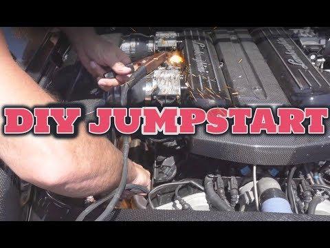 HOW TO JUMPSTART A LAMBORGHINI **DIY**
