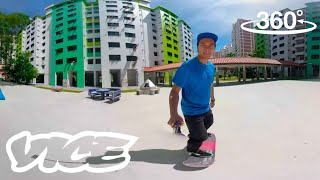 Exploring Singapore's Growing Skating Parks | VR 360°
